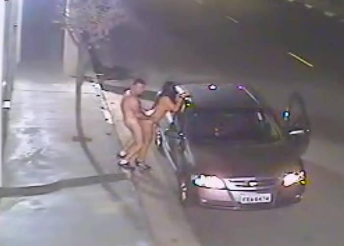 Flagras de Sexo na Rua